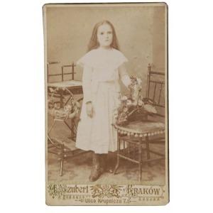 Awit SZUBERT (1837-1919), Portret dziewczynki, ok.1890