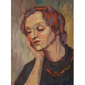 Zofia LEŚNIAK, Portret kobiety