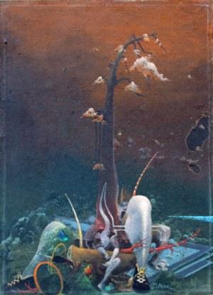 Jacek Baszkowski (ur. 1935, Poznań, zm. 2004), Skaczące drzewo 3, 1993