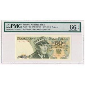 50 złotych 1979 - CW - PMG 66 EPQ