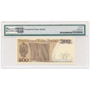 500 złotych 1979 - BN - PMG 66 EPQ