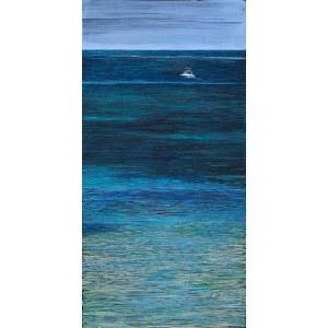 Mariusz Kitowski, Boat in Paradise Diani Beach Kenya, 2020