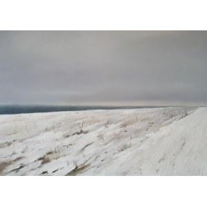 Karolina Drygała, Krajobraz zimowy, 2020
