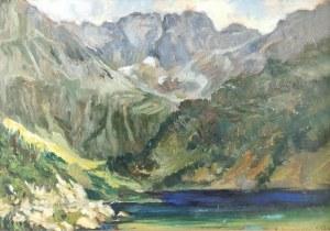 Antoni BARTKOWSKI (1891-1974), Czarny Staw, 1939