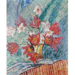 Edward MATUSZCZAK (1906-1965), Kwiaty, 1952