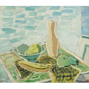 Edward MATUSZCZAK (1906-1965), Martwa natura z bananem, 1939