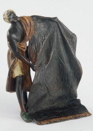 Franz Xavier BERGMANN (1861-1936), Sprzedawca dywanów