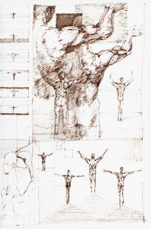 Tomasz KAZIKOWSKI (ur. 1952), Zestaw 3 prac, 1992