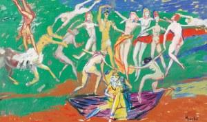 Edmund BURKE (1912-1999), Igraszki z nimfami