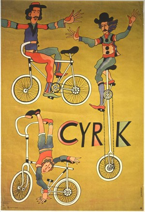 Marian Stachurski Cyrk, 1975 r.