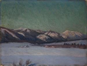 Abraham Neumann (1873-1942) Tatry Zachodnie
