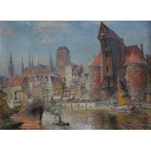 Theodor Urtnowski (1881-1963) Gdańsk. Nad Motławą