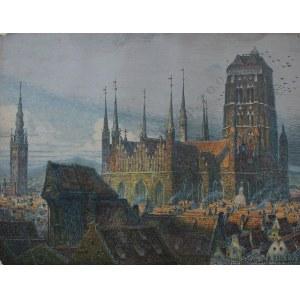 Theodor Urtnowski (1881-1963) Kościół Mariacki w Gdańsku