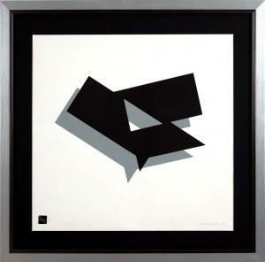 Ryszard Winiarski (1936 Lwów - 2006 Warszawa), Kompozycja geometryczna, 1984
