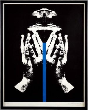 Roman Cieślewicz (1930 Lwów - 1996 Paryż), Niebieska linia
