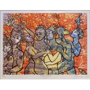 Marco Cecioni, La Fiesta Psychedelica, 1994, ed. 137/199