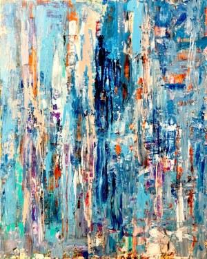 Gossia ZIELASKOWSKA (pseud.), Blue Mirage, 2019 r.