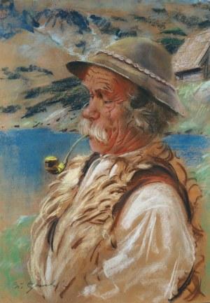 Stanisław Górski (1887-1955), Baca z fajką