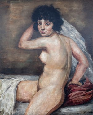 Roman Kramsztyk (1885 Warszawa-1942 tamże), Akt kobiecy