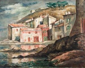 Roman Kramsztyk (1885 Warszawa-1942 tamże), Pejzaż z południa Francji