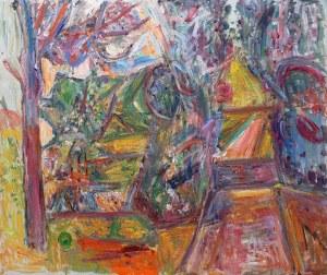 Pinchus Krémegne (1890 Zaloudock - 1981 Céret), Pejzaż z Ceret