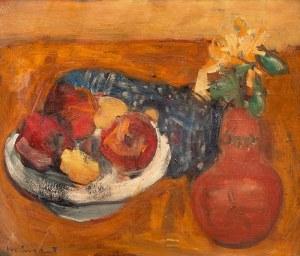 Joachim Weingart (1895 Drohobycz - 1942 Oświęcim), Martwa natura z owocami