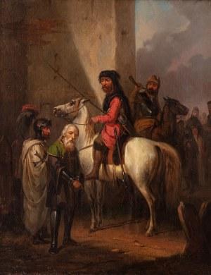 Józef starszy Brodowski (1781 Warszawa - 1853 Kraków), Jeńcy, 1852 r.