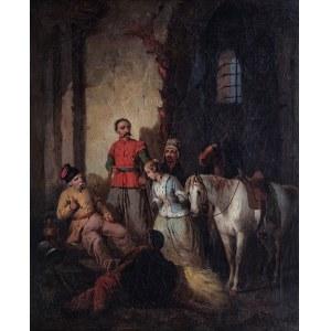 Józef starszy Brodowski (1781 Warszawa - 1853 Kraków), Branka, ok. 1852