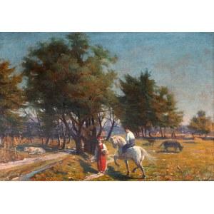 Leonard Stroynowski (1858-1935), Zaloty