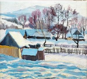 Stanisław Borysowski (1901 Lwów - 1988 Toruń), Podhalańska zima, 1930 r.