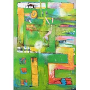 Piotr Gola, Green Abstract No.2