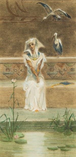 MN- w typie Wilhelma Kotarbińskiego (I poł. XX w.), Egipcjanka