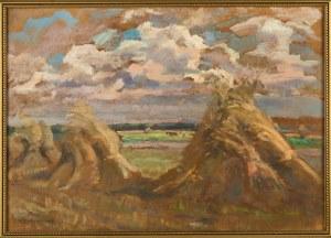 Wacław Żaboklicki (Zaboklicki) (1879 Zakrzew-1959 Warszawa), Żniwa