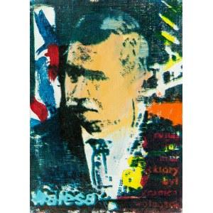 Piotr Młodożeniec (ur. 1956 r.), Lech Wałęsa