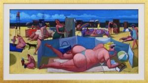 Jacek Pałucha, Plaża w Jastarnii, 2020