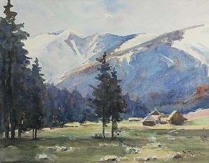Henryk SAJDAK (1905-1995), Polana Chochołowska w Tatrach