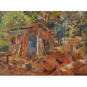 Charles Garabed ATAMIAN (1872-1947), Kurnik, 1932