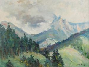 Henryk SAJDAK (1905-1995), Pejzaż tatrzański