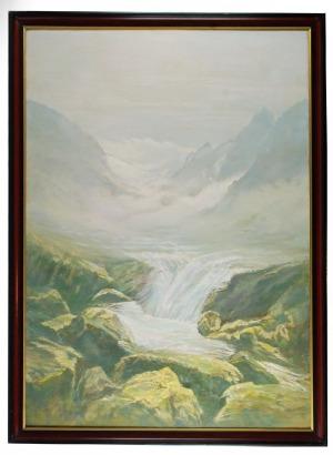 Urszula BROLL-URBANOWICZ (ur. 1930), Księżycowa dolina, 1979