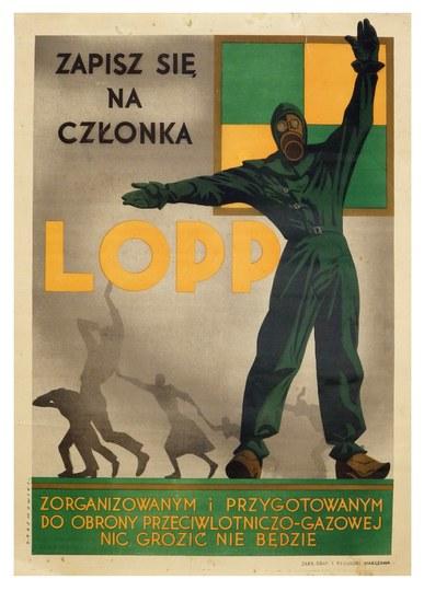 ZAPISZsię na członka LOPP. Zorganizowanym i przygotowanym do obrony przeciwlotniczo-gazowej nic grozić nie będzie. ...