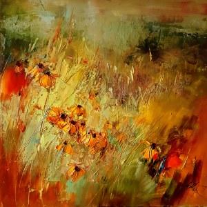 Grażyna Mucha - Jesienna łąka