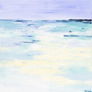 Yuliya Stratovich, Summer seascape, 2020