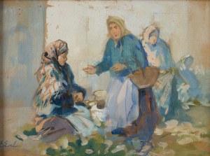 Erno Erb (1878 lub 1890 Lwów - 1943 tamże), Rozmowa przekupek