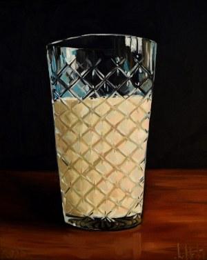 Szymon Kurpiewski, Ryflowana szklanka mleka, 2020