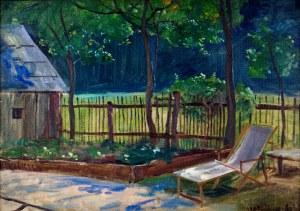 Wincenty Wodzinowski (1866-1940), Ogród w słońcu