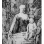 Bartosz Czarnecki (ur. 1988), Jean Fouquet - Madonna z Dzieciątkiem wśród Aniołów, 2020