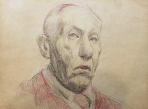 Stanisław Kamocki (1875-1944), Autoportret z prawego en trois quatre
