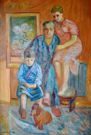 Zbigniew Pronaszko (1885-1958), Portret rodzinny
