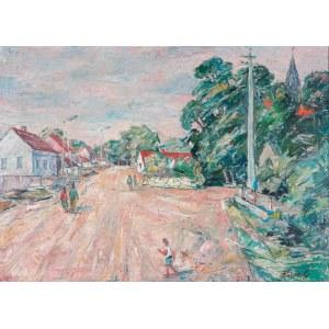 Alojzy Siwecki (1912 - 1988), Pejzaż z Chrobrza I