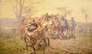 Józef Brandt (1841-1915), Rozpędzony zaprzęg